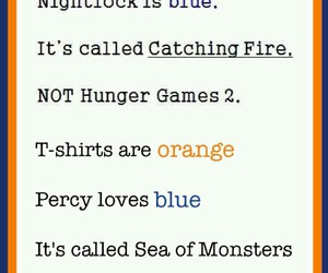 the hunger games and percy jackson image