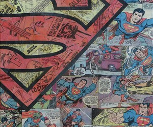 superman, wallpaper, and comic image