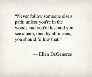 ellen degeneres and quote image