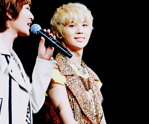 Onew, Taemin, and SHINee image