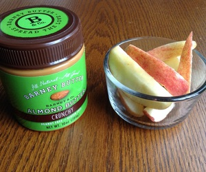 almonds, healthy, and snacks image