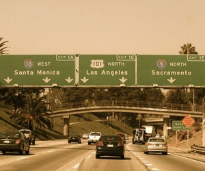 los angeles, city, and travel image