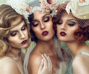 chapeau, flowers, and elegance image
