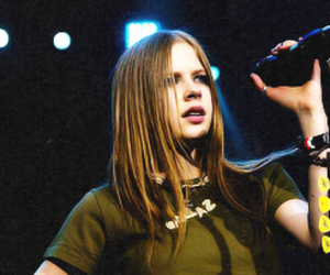 Avril Lavigne, 2003, and let go image