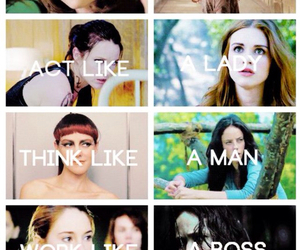 girl, divergent, and strong image