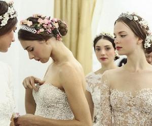 fashion, wedding dresses, and white dresses image