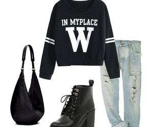 boyfriend, girls, and outfits image