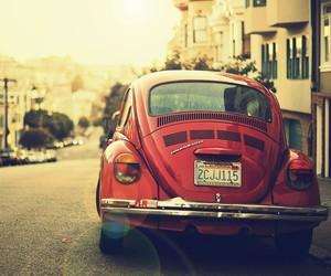 street, beautiful, and beetle image