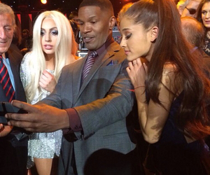 ariana grande and Lady gaga image