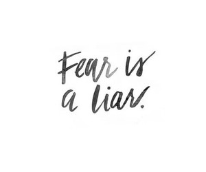 quotes, fear, and handwriting image