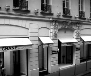 black, street, and chanel image