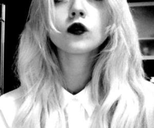 allison harvard, black and white, and model image