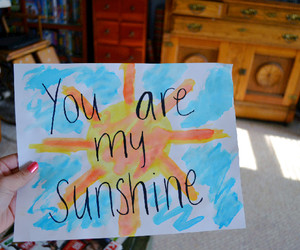 quote, sunshine, and tumblr image