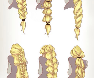hair, rapunzel, and tangled image