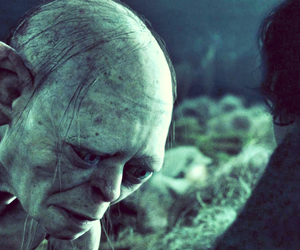 the lord of the rings, gollum, and smeagol image