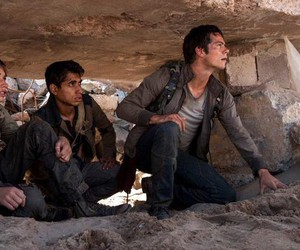 dylan o'brien, thomas, and the scorch trials image