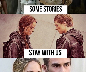 books, divergent, and four image