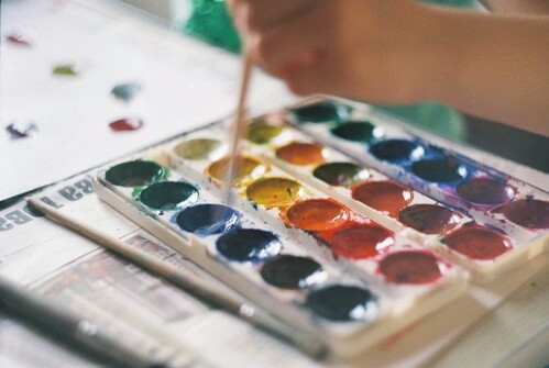 art, colour, and colorful image
