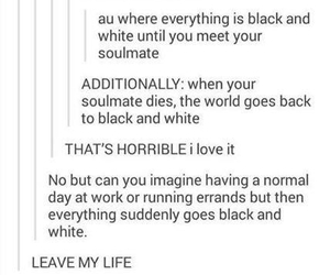 color, soulmate, and tumblr image