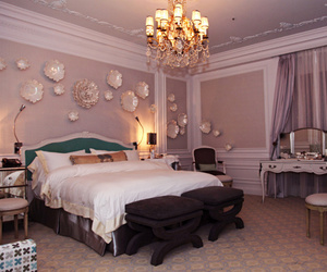 interior decor, luxury, and bed to die for image