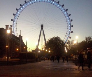 awesome, big wheel, and fall image