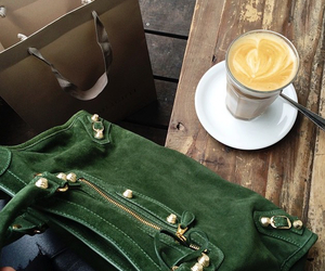 coffee and green image