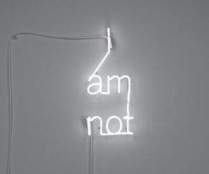 white and neon image