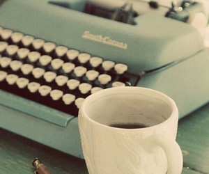 vintage and coffee image