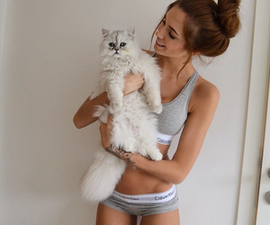 animal, beauty, and brunette image