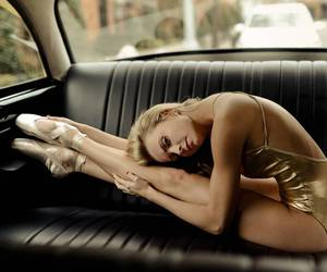art, ballet, and car image