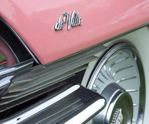 pink, retro, and cadillac image