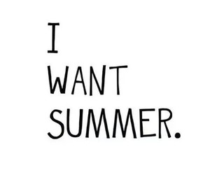 summer, i, and want image