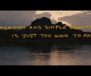 into the wild, quote, and beauty image