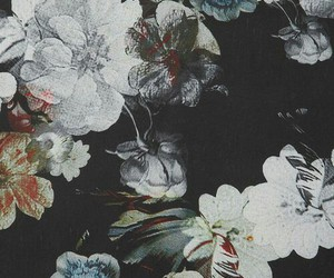 flowers, vintage, and background image
