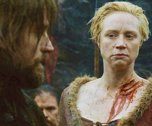 game of thrones, gwendoline christie, and don't mess her around. image