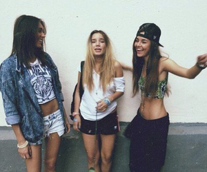 girls, friends, and hipster image