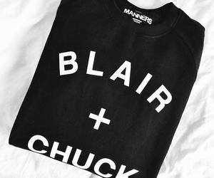 black and white, fashion, and blair image