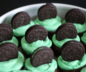 Cookies, cupcakes, and mint image