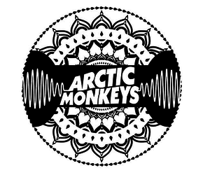 music, arctic monkeys, and black image