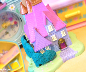 kawaii, life, and polly pocket image