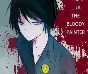 bloody painter and creepypasta image