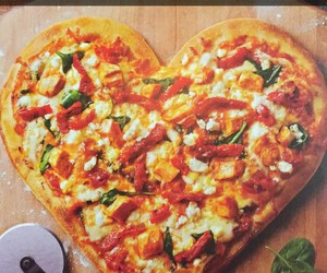 pizza, food, and snapchat image