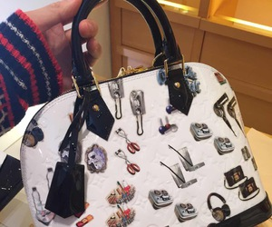 alma, Louis Vuitton, and stickers image