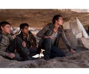 jacob latimore, maze runner, and dylan o brien image