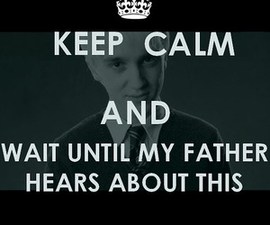 malfoy, lort¨¨, and daddy's boy image
