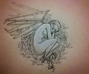 Chiara Bautista, art, and drawing image