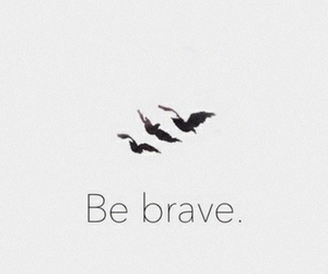 divergent, brave, and tris image
