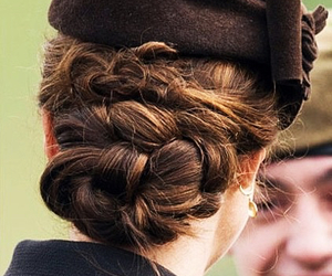 hair, catherine middleton, and duchess of cambridge image