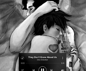 larry stylinson, Harry Styles, and they don't know about us image