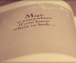 magic, quote, and love image